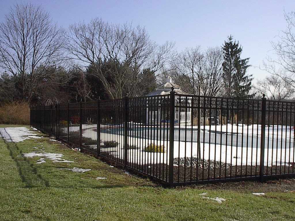 Ornamental Aluminum Amp Steel Fence Installation Central
