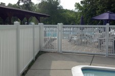 Lagoon Style PVC with Pool Code Spacing