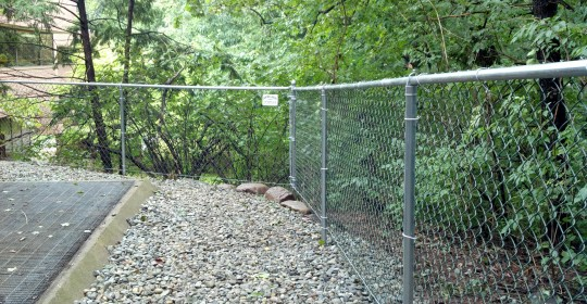 Chain Link With Bottom Tension Wire Central Jersey Fence