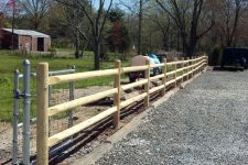 3 Rail Fence Design White red cedar fence installation wood fence design new jersey 3 rail wooden fence workwithnaturefo