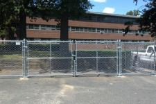 All Galvanized Chain Link