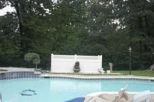 PVC Pool Filter Enclosure