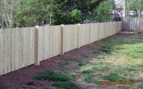 4 Foot Cedar Fence